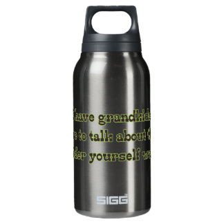Warning from Grandparents Thermos Water Bottle