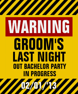d586dedd8c0936 Warning Groom s Last Night Out Bachelor Party Tank Top