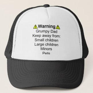 Warning: Grumpy Dad Trucker Hat