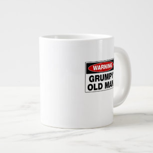 Mug Coffee Grumpy Old Large Warning Man sdthQr