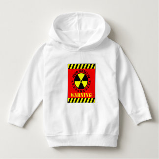 Warning High Levels Of Awesomeness Hoodie