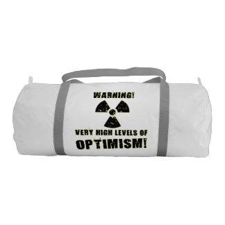Warning! High Levels of Optimism! Gym Bag