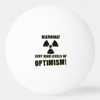 Warning! High Levels of Optimism! Ping-Pong Ball