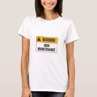 Warning - High Maintenance T-Shirt