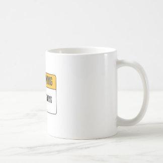 Warning - Highly Strung Coffee Mug