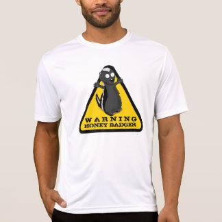 Warning HONEY BADGER! T-Shirt