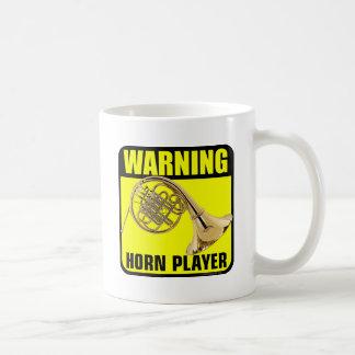 Warning Horn Player Coffee Mug