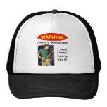 Warning. I Have A Saxophone ... Hat
