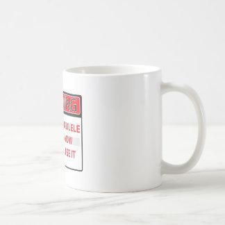 warning I have a ukulele 2000Warning I have a Ukul Classic White Coffee Mug