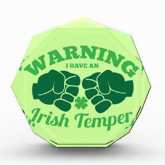 WARNING I have an Irish Temper! from Awesome Irish Award