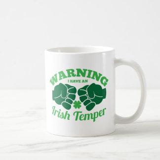 WARNING I have an Irish Temper! from Awesome Irish Coffee Mug