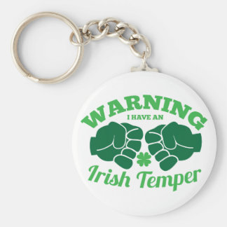 WARNING I have an Irish Temper! from Awesome Irish Keychain