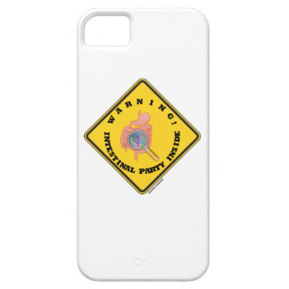 Warning! Intestinal Party Inside (Guts Magnifying) iPhone 5 Case