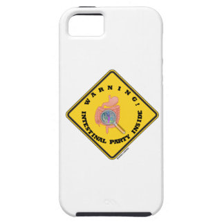 Warning! Intestinal Party Inside (Guts Magnifying) iPhone 5 Cases