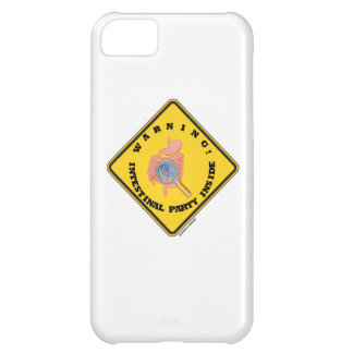 Warning! Intestinal Party Inside (Guts Magnifying) iPhone 5C Case