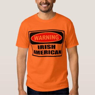 Warning IRISH AMERICAN Men's T-Shirt