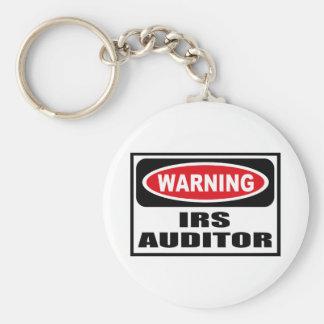 Warning IRS AUDITOR Key Chain