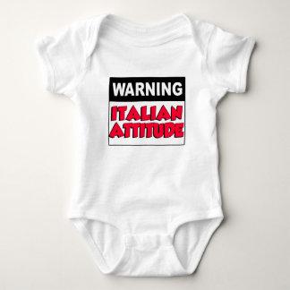 Warning Italian Attitude Shirt