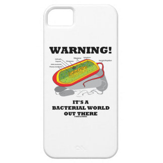 Warning! It's A Bacterial World Out There iPhone SE/5/5s Case