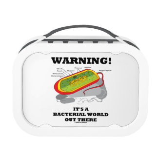 Warning! It's A Bacterial World Out There Yubo Lunch Boxes