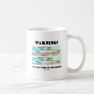 Warning! It's That Time Of The Month (Menstrual) Coffee Mug