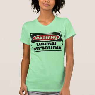Warning LIBERAL REPUBLICAN Women's T-Shirt