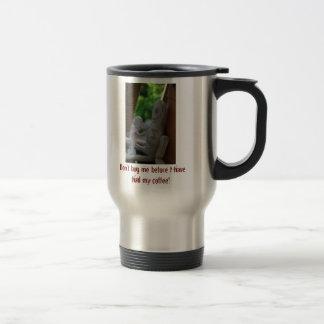 Warning Little Man mug
