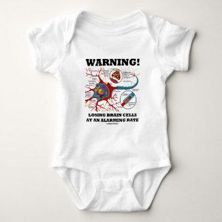 Warning! Losing Brain Cells At An Alarming Rate Baby Bodysuit