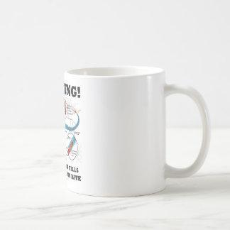 Warning! Losing Brain Cells At An Alarming Rate Classic White Coffee Mug