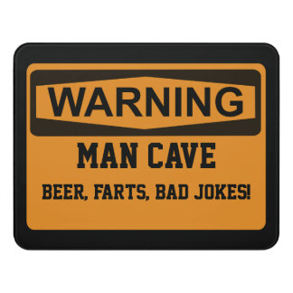 Warning Man Cave Sign  sc 1 st  Zazzle & Door Signs | Zazzle