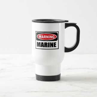 Warning MARINE Mug