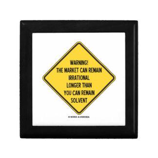Warning! Market Can Remain Irrational Longer Than Gift Box