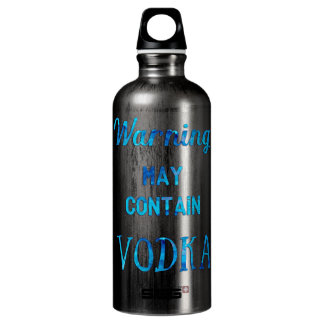 Warning May Contain Vodka Watercolor SIGG Traveler 0.6L Water Bottle