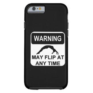 Warning may flip tough iPhone 6 case