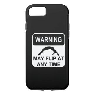 Warning may flip iPhone 7 case
