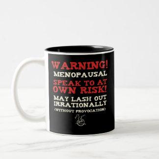 Warning! Menopausal Mug