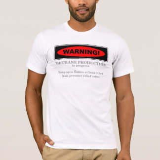 Warning! Methane production... 2 (Front) T-Shirt