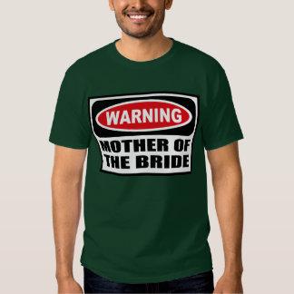 Warning MOTHER OF THE BRIDE Men's Dark T-Shirt