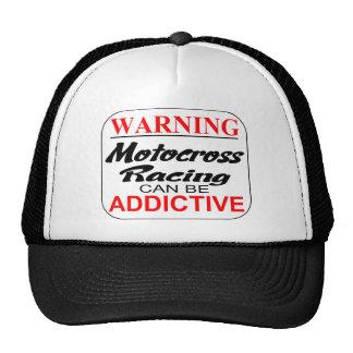 Warning: Motocross can be Addictive! Trucker Hat