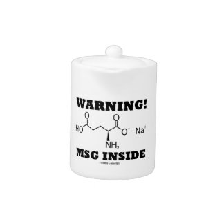 Warning! MSG Inside (Chemical Molecule)