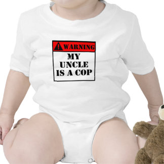 Warning My Uncle Is A Cop Bodysuit
