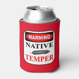 WARNING NATIVE TEMPER CAN COOLER