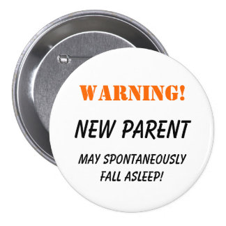 Warning New Parent - button