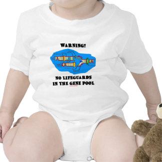 Warning! No Lifeguards In The Gene Pool Tshirt