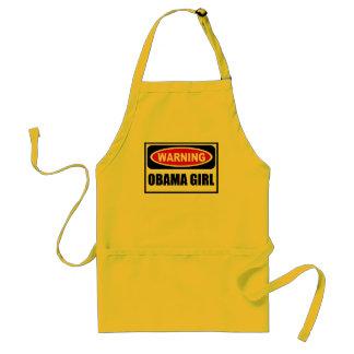 Warning OBAMA GIRL Apron