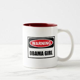 Warning OBAMA GIRL Mug