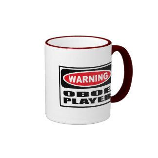 Warning OBOE PLAYER Mug