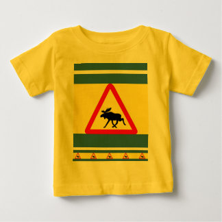 Warning of the moose baby T-Shirt