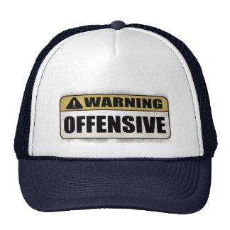 Warning: Offensive Trucker Hat