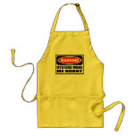 Warning OYSTERS MAKE ME HORNY Apron
